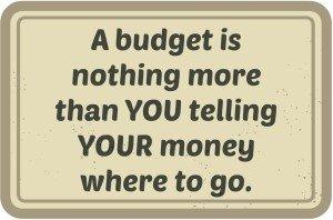 A budget