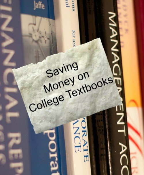 Saving money on college textbooks